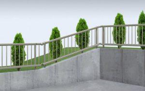 三協 フェンス スーパー速川1型 傾斜地用