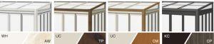 ガーデンルーム ハピーナ 組み合わせ例
