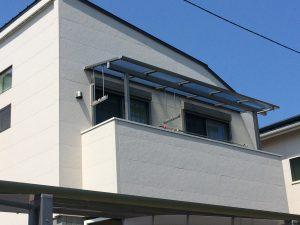 守山区 庭造 2階テラス