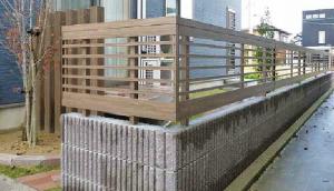 横板 フェンス 木調