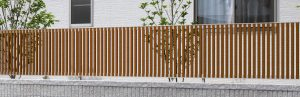 おしゃれ フェンス 木目調 名古屋 守山 春日井 フェンス マイリッシュ 5型