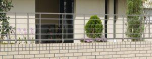 2型2 鋳物 安い フェンス コーディネート おしゃれ 新築 外構 お庭 独立施工 工事 名古屋 守山 春日井