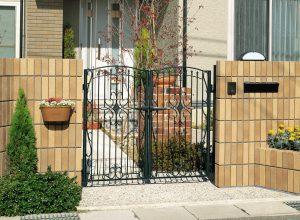 安い 名古屋 守山 春日井 6型 エクステリア 新築 お庭 リフォーム 外構 見積り 相談 門扉 鋳物 安い
