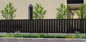 2型マロンノーチェ フェンス おしゃれ 木目 木調 名古屋 フェンス 守山 フェンス 春日 フェンス