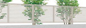 名古屋 守山 春日井 3型 フェンス シンプル 目隠し 境界 フェンス 安い