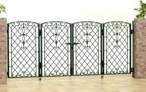名古屋 折り扉 おしゃれ 門扉 車庫 ゲート 名古屋 新築 外構 駐車場 カーゲート 安い 鋳物 おしゃれ 広い扉