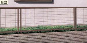 2型 アルメッシュフェンス 緑化 植物 目隠し 安い 名古屋 守山 目隠し 植物 フェンス