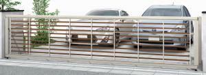 門扉 ワイド03型 ルシアスアップゲート 安い 新築 外構 エクステリア 見積り 相談 お庭 リフォーム カーポート カーゲート 車庫まわり 車庫ゲート シャッターゲート 出入り口 車 2台用 バリエーション 選び方