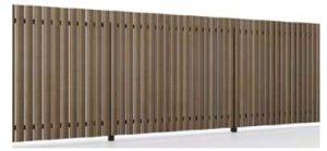縦リアル木調平板