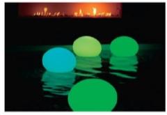 smart green ガーデンライトフラットボール
