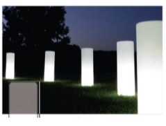 smart green ガーデンライト円柱
