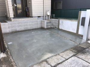 駐車場拡張