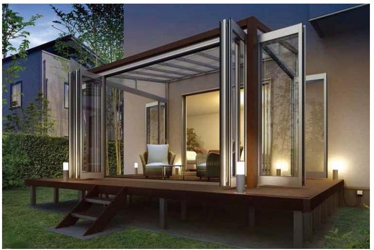 ソラリア テラス囲い 木調ガーデンルームタイプ