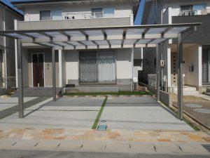 春日井市 駐車場拡張