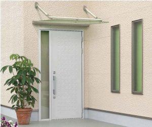クリアルーフ 玄関ドア